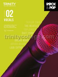 Trinity Rock & Pop 2018 Vocals Grade 2