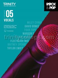 Trinity Rock & Pop 2018 Vocals Grade 5