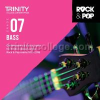 Trinity Rock & Pop 2018 Bass Grade 7 (CD Only)