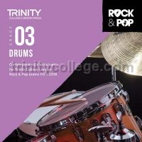Trinity Rock & Pop 2018 Drums Grade 3 (CD Only)