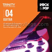 Trinity Rock & Pop 2018 Guitar Grade 4 (CD Only)