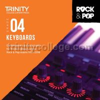 Trinity Rock & Pop 2018 Keyboards Grade 4 (CD Only)