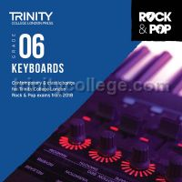 Trinity Rock & Pop 2018 Keyboards Grade 6 (CD Only)