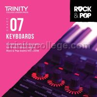 Trinity Rock & Pop 2018 Keyboards Grade 7 (CD Only)