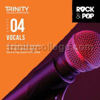 Trinity Rock & Pop 2018 Vocals Grade 4 (CD Only)