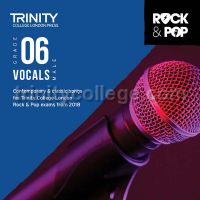 Trinity Rock & Pop 2018 Vocals Grade 6 - Male Voice (CD Only)