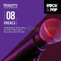 Trinity Rock & Pop 2018 Vocals Grade 8 - Male Voice (CD Only)