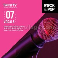 Trinity Rock & Pop 2018 Vocals Grade 7 - Female Voice (CD Only)