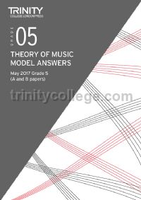 Theory of Music Model Answers May 2017 Grade 5