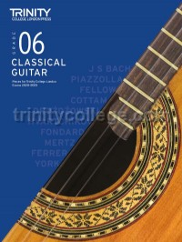 Classical Guitar Exam Pieces 2020-2023: Grade 6