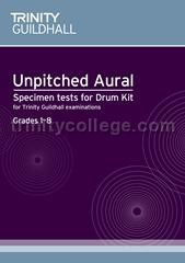 Unpitched Aural Specimen Tests Drum Kit