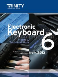 Electronic Keyboard Exam from 2013 – Grade 6