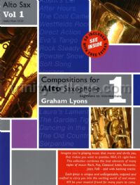 Compositions for Alto Saxophone vol.1 (Book & CD)