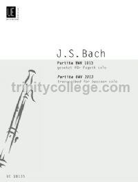 Partita, BWV 1013 (Bassoon)
