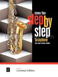 Step by Step: Easy pupil-teacher studies for 1-2 saxophones