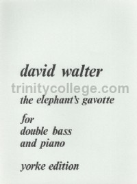 The Elephant's Gavotte for double bass and piano