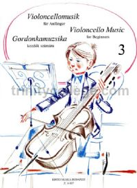 Violoncello Music for Beginners, Book 3