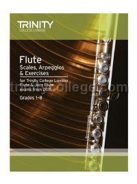 Flute & Jazz Flute Scales, Arpeggios & Exercises from 2015