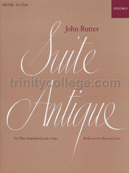 suite antique john rutter flute pdf