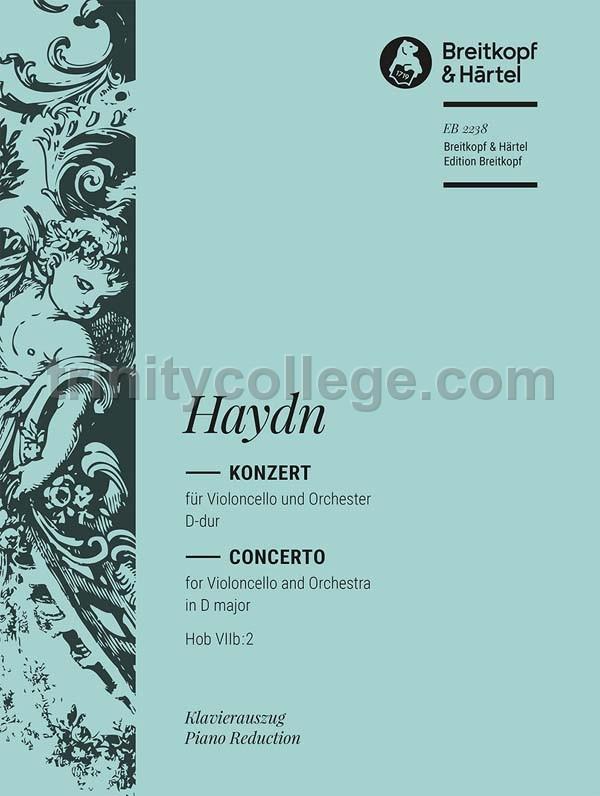 Haydn, Franz Joseph - Cello Concerto in D major Op  101 Hob