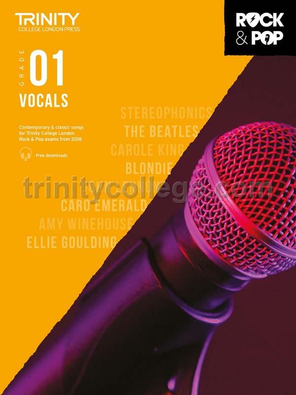 Various - Trinity Rock & Pop 2018 Vocals Grade 1