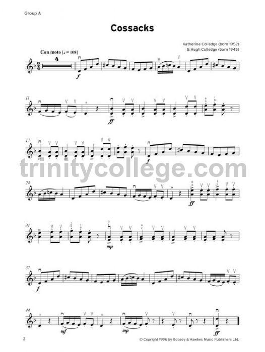 Suzuki Violin Exam