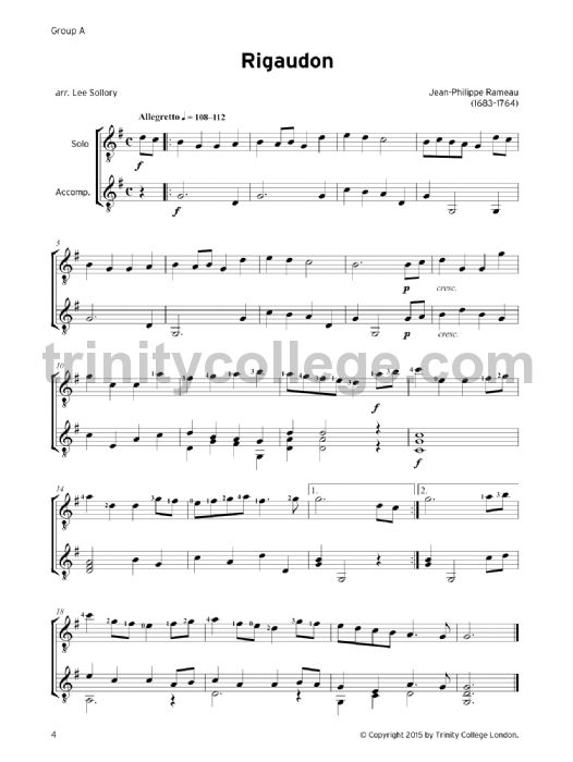 guitar exam pieces grade 2 2016 2019 trinity college london